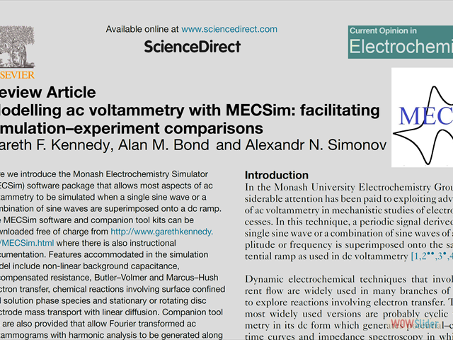 MECSim published